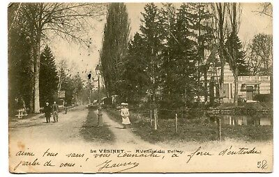 CPA - Carte Postale - France - Le Vésinet - Avenue du Belloy - 1905 ( CP5159 )