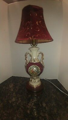 Beautiful Large Vintage Victorian Table Lamps