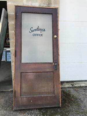MAR 242 antique passage door 36 x 84 with jam