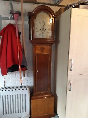 A Georgian Antique Grandfather Clock by John Bridges of Ipswich c 1798 - 1820