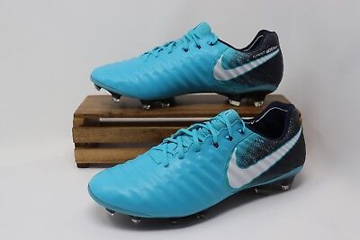 812f8840b026 Nike Tiempo Legend VII 7 FG Soccer Cleats Fire & Ice Pack Blue 897752-414