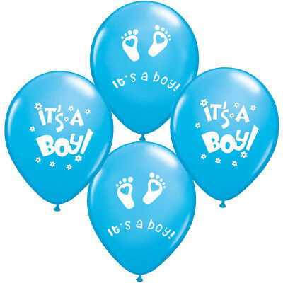 15 x Its a Boy Luftballons Babyshower Babyboy Bebekparty Bebek Sekeri Party Deko