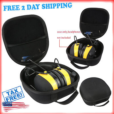 3M WorkTunes Wireless Hearing Protector Bluetooth Technology Earmuff Hard Case