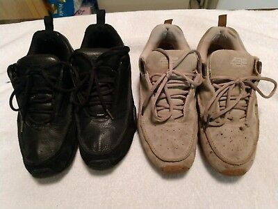 """2 Pair Of Size 9½ Mens Pre Owned 4Ce Force """"henny"""" Footwear Skateboard Shoes"""