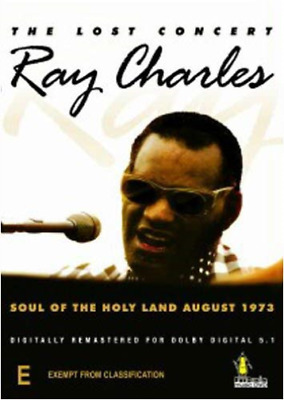 Ray Charles-Soul Of The Holy Land August 1973 (UK IMPORT) DVD [REGION 2] NEW