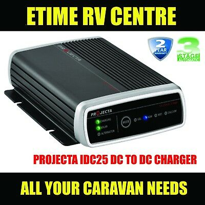 Projecta Idc25 Dual Battery System Dc To Dc Charger Mppt Solar Caravan 4Wd