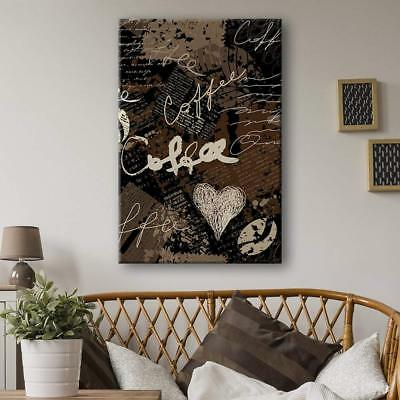 Wall26 - Grunge Style Coffee Concept Art Gallery - CVS - 16x24 inches