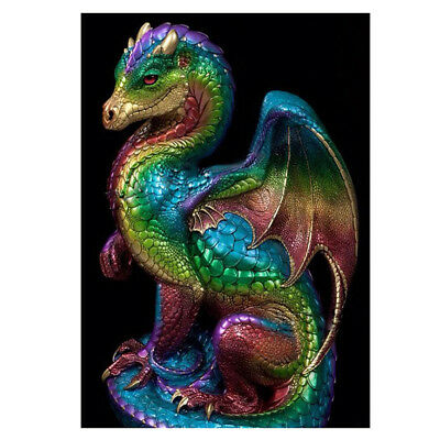 Dragon Pentagram DIY 5D Diamond Embroidery Painting Cross Stitch Home Art Decor