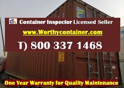 40' High Cube Shipping Container / 40ft HC Cargo Worthy in Detroit, MI