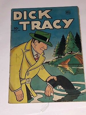 1940 Dell Four Color No. 56 DICK TRACY 56 - Nice Condition - R@R# - L@@K!