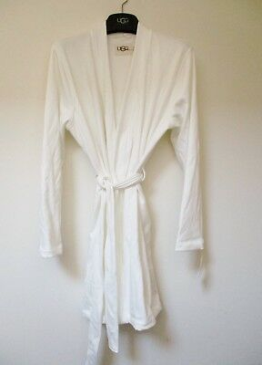 UGG Women s CLARENCE Robe CREAM Knit Size Large  88 MSRP NWT a9e4402c9