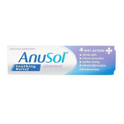 Anusol Soothing Relief Haemorrhoid Ointment for Piles Treatment 15g - Multibuy