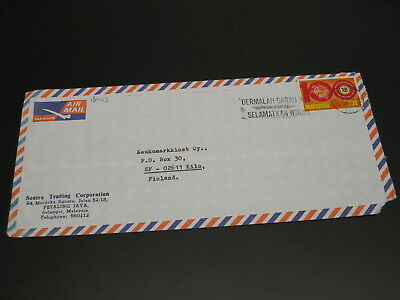 Malaysia 1975 airmail cover to Finland *15423