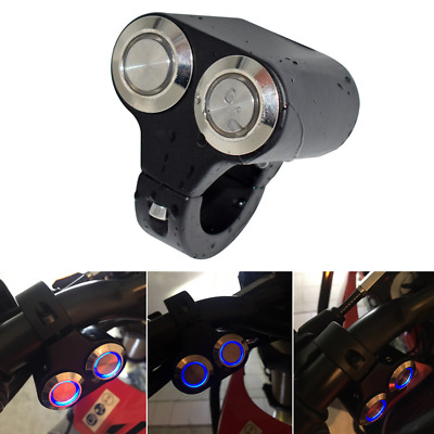 "Universal 7/8"" Aluminum ATV Bike Manual Switch Button for LED Light Bar Signal"