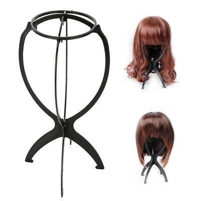 Hat And Wig Stand Tabletop Foldable Display Ball Portable Plastic Wire Holder LJ