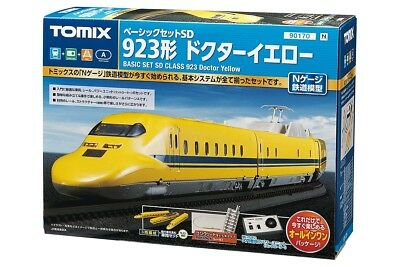 TOMIX N Gauge Model of Japan Railways, Dr. Yellow, Test Car for Electric Track