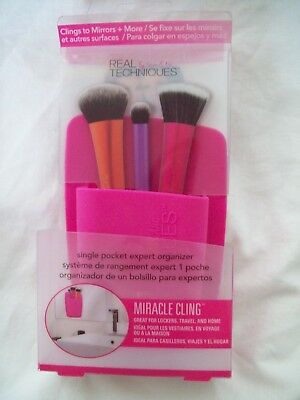REAL TECHNIQUES Miracle Cling Single Pocket Brush Storage Organiser