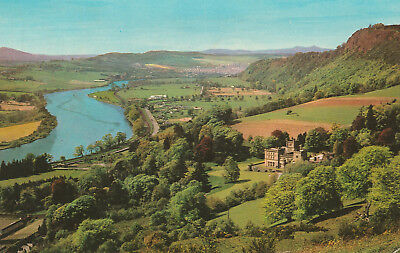 The Valley of The Tay Perth Picture Scotland c.1974 Printed Posted Postcard
