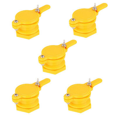 5Pcs Honey Gate Valve Beekeeping Extractor Tap Easy Fit Bee keeping Apiary Equip