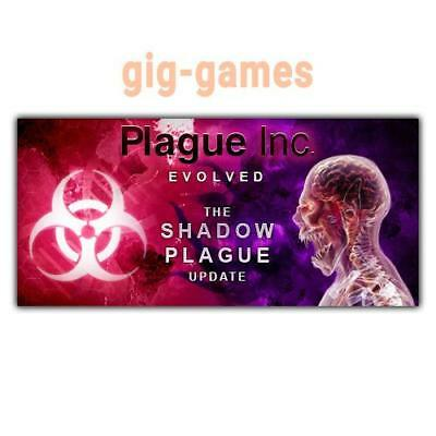 Plague Inc: Evolved PC spiel Steam Download Digital Link DE/EU/USA Key Code Gift