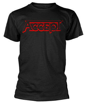 Accept 'Red Logo' T-Shirt - NEW & OFFICIAL!