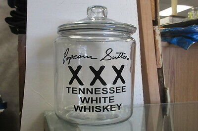 Popcorn Sutton's (Small) Whiskey Moonshine Cookie Counter Top Store Display Jar