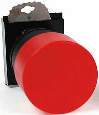 BACO BACO Series, Red Push Button Head, Pull Release, 22mm Cutout