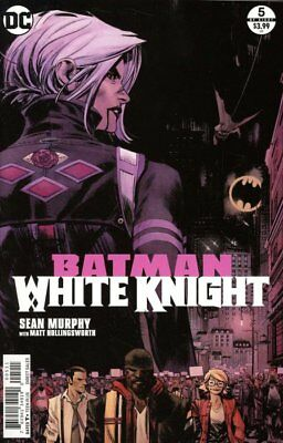Batman White Knight #5 Regular & Variant Cover Published By Dc Nm/m 2 Book Set!