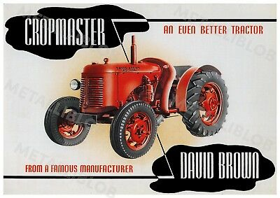 david brown 950 tractor advertising poster a3 3 25 picclick uk rh picclick co uk