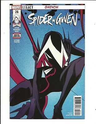 SPIDER-GWEN # 26 (GWENOM RODRIGUEZ VARIANT COVER, Mar 2018), NM NEW