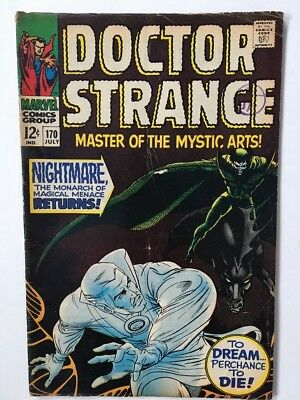Marvel Doctor Strange Tales Comic Vol 1 No 170 From July 1968