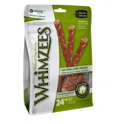 Whimzees Veggie Sausages 28 Pack  1x sml - KWH324