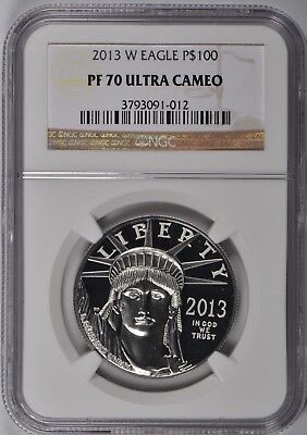 2013-W $100 Proof Platinum Eagle NGC PF-70 UC