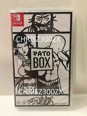 Pato Box Regular Standard Nintendo Switch Physical Works USA - Region Free
