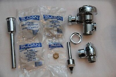 NEW Sloan 186 Regal Flushometer 1.5 GPF Manual Flush Valve 3082600 Chrome