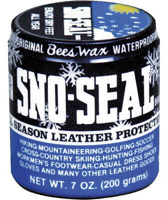 Atsko Sno Seal Original Bees Wax Waterproofing Leather Protection Boot Shoes USA