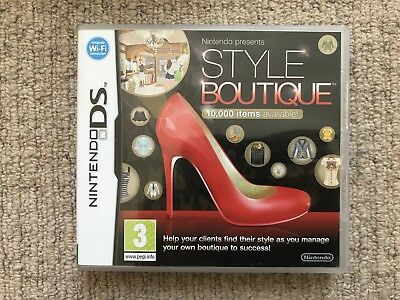 BOX ONLY Style Boutique Nintendo DS Box Only