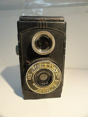 Vintage 1940's METRO-FLEX Camera Shelf Display Piece Bin 757