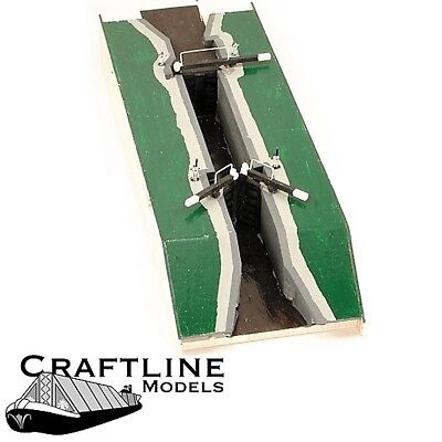 LOCK GATE KIT NARROW CANAL   CRAFTLINE CAK2  00 4mm SCALE