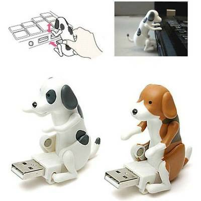 Portable Mini Funny Cute Pet USB Gadgets Humping Spot Dog For Laptop PC Gift