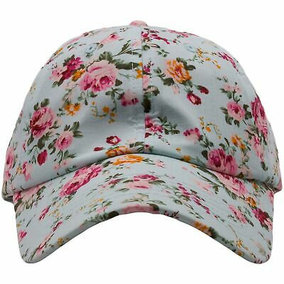 Wholesale Floral Blue Blank Adjustable Dad Hat 80552bcbe97a