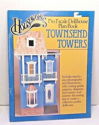Miniature Dollhouse Collector Townsend Towers Dollhouse Plan Book by Garth Close