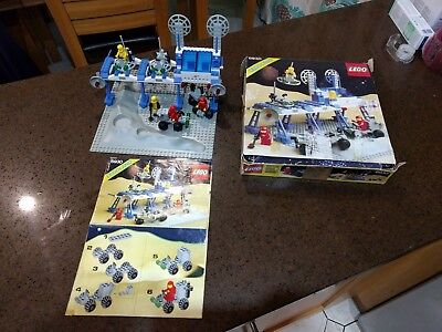 Lego 6930 Space Supply Station 100 Complete With Instructions