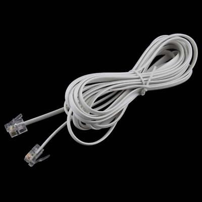 High Speed 3M RJ11 6P4C Telephone Phone ADSL Modem Line Cord Cable 4 Pin CZ ^p