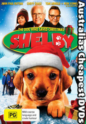 Shelby The Dog Who Saved Christmas DVD NEW, FREE POSTAGE IN AUSTRALIA REGION 4