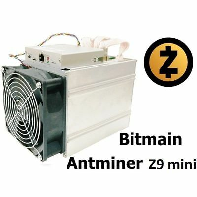 BITMAIN ANTMINER Z9 Mini - 10k Sol/s up to 15k 300 W Zcash In hand ready to ship