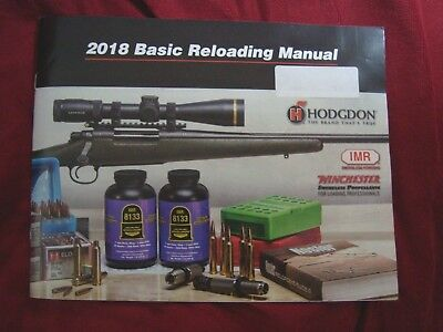 hodgdon annual reloading manual 2018 softcover new free ship rh picclick com