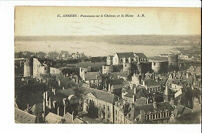 CPA - Carte postale-France-Angers - Panorama - 1925 - S1989