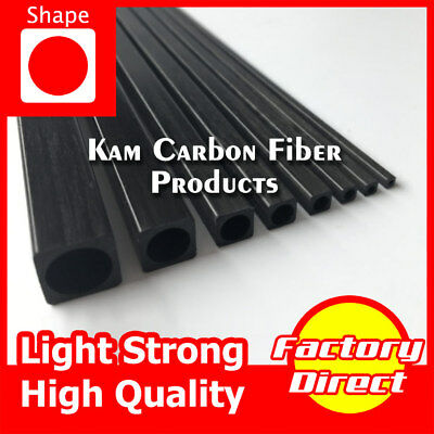 5*5*4 mm Square/Round Carbon Fiber Tube 200 300 400 500 600 750 800 1000