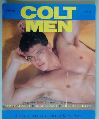 Colt men magazine nb#31- 1994 gay vintage interest